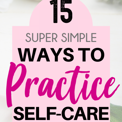 How do you practice self-care? Loving yourself is more than just an occasional bath and a glass of wine - taking care of your mental health is also important. BUT when you're having a bad day and you just need a little dose of self-care to lift your mood, these tips and ideas might come in handy. Here are a few super simple ways to practice self-care for moms. #personalwellness #selfcare #pampering #treatyoself