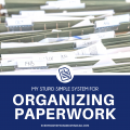 Tired of constantly organizing paperwork? Check out the simplest paperwork system for busy moms! This organization system only requires a few hours a year. Eliminate paper clutter in your home with this easy and cheap DIY paper system. Includes a step-by-step process for how to organize your papers, steps for how to reduce the papers that come into your house, resources for eliminating junk mail, and great products to help you keep your home organized.