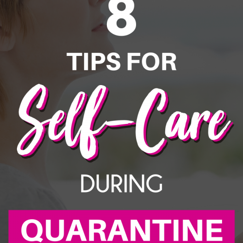 Self-care during quarantine is a necessity. Mama, your mental health has to be prioritized! Here's a list of healthy coping skills I've learned during the last few years of fighting for my mental health. If you're feeling lonely or depressed, these tips might help you make it through the bad days. Putting on shoes, cleaning for 10 minutes every night, and indulging in crafts is nice, but you can also throw pity parties and give in to the bad days every once in a while. #selfcare #mentalhealth